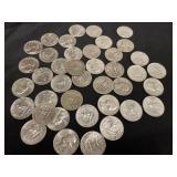 $10 in 90% Silver Washington Quarters