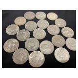$10 in Franklin Halves