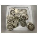 $10 in Barber Quarters