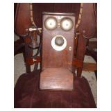 OLD CRANK WALL PHONE..