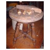 ROUGH..OLD PIANO STOOL
