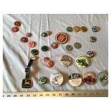 Buttons etc.