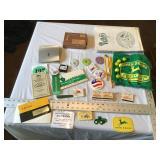 John Deere Items  etc.