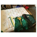 XL John Deere and DeKalb coats