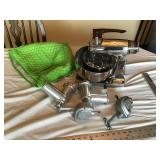 Sunbeam mixer with attachments
