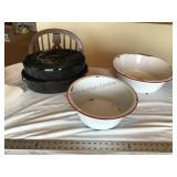 Roaster and enamelware