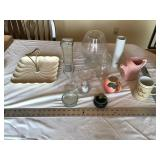 Glassware etc.