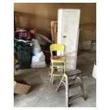 Cosco stool ,ladder and cabinet