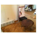 Stand stool and breakfast tray