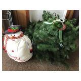 Christmas tree etc.