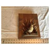 Duckling wall hanging