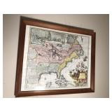 (2) Map Pictures 26x22
