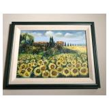 Sunflower Print 16x13