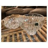 (2) Crystal bowls