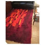 Rya mid century sweedish rug 119x76