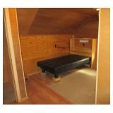 garage loft bedroom/office