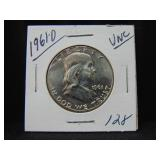 1961D Franklin Half Dollar