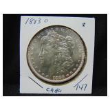 1883O Morgan Dollar