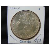 1898O Morgan Dollar