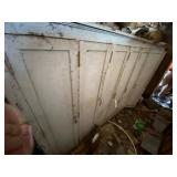 Large Wood Cabinet w/8 Doors 9