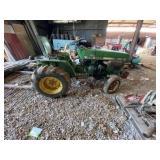John Deere 650 Garden Tractor Diesel 1511 hrs