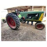 Oliver 77 Row Crop Tractor Tricycle Tires Gas