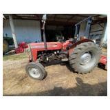 Massey Ferguson 240 Diesel Tractor 1829 hrs