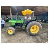 John Deere 5410 Tractor w/Canopy 970 hrs