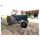 John Deere 4055 Quad Range Tractor w/Canopy