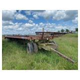 All Steel Single Axle Semi Trailer w/Dolly 48 ft