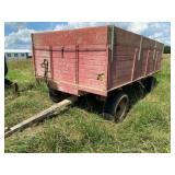 Dump Grain Wagon 7ft x 14ft
