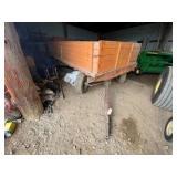 Grain Wagon w/Side Boards 7ft x 14ft
