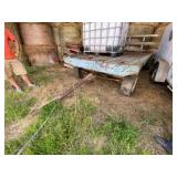 4-Wheel Dump Wagon 7ft x 14ft