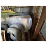 Mueller Flat Top Stainless Steel Milk Tank ~800 ga