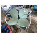 Metal Glider-2 Seat