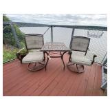 Patio Table w/2 Chairs