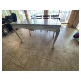 "Small Table w/Granite Top 54""L x 29-1/2""W x 30""H"