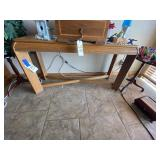 """Entry Table 50""""L x 16""""W x 27""""H"""