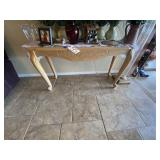 """Light Wood Entry Table 48""""L x 16-1/2""""W x 27""""H"""