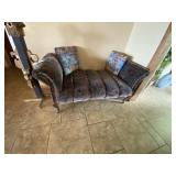 """Entry Seat Upholstered 56""""L"""