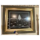 Framed Art Original Miracle of the White Buffalo