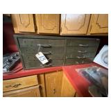 8-Drawer Metal Cabinet from Okmulgee IT-Vintage