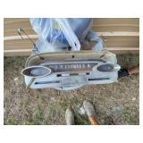 Vintage Mercury Car Dash Speedometer