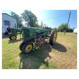 John Deere 50 Tricycle Wheel Tractor w/PTO & 2 Row