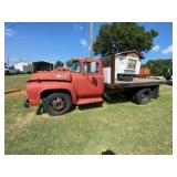 1956 Ford F600 Truck w/13ft Dump Bed 292 Motor