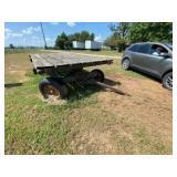 Flat Bottom Wagon 7ft x 11ft*Tires Like New*
