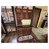 Hoosier Style Cabinet w/Granite Top