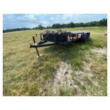 Bumper Pull 16ft Trailer 2-axle