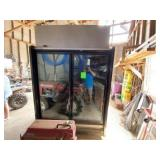 Warren Commercial Glass 2-Door Reach In Freezer