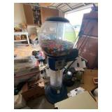 Large Gumball Machine 25¢ All Plastic 56